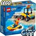 Lego City Плажно спасително ATV 60286