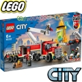 Lego City Пожарна команда 60282