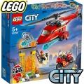 Lego City Пожарникарски спасителен хеликоптер 60281
