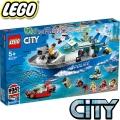 Lego City Полицейска патрулна лодка 60277