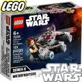 Lego Star Wars Хилядолетния сокол - микрофайтър 75295
