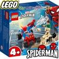 Lego Super Heroes Схватката между Спайдърмен и Сендмен 76172
