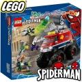 Lego Super Heroes Камионът чудовище на Спайдърмен с Мистерио 76174