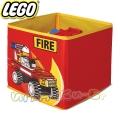 Lego Кутия за съхранение Fire red