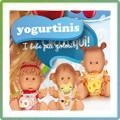 Yogurtinis Кукли с аромат на мляко и плод