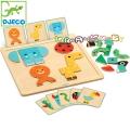 Djeco Игра с магнитни карти Geobasic DJ06210