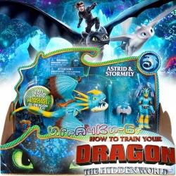 Dragons The Hidden World Дракон и ездач Буреноска и Астрид 6045112