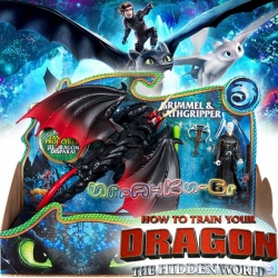 Dragons The Hidden World Дракон и ездач Гримел и Грипер 6045112