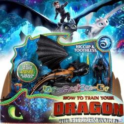 Dragons The Hidden World Дракон и ездач Беззъб и Хълцук 6045112