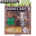 Minecraft Базова фигурка Alex In Iron Armor 16486