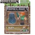 Minecraft Базова фигурка Alex With Elytra Wings 16492