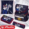 Herlitz Loop Plus Ергономична ученическа раница Comic Hero 50020577