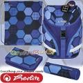 2021 Herlitz SoftFlex Plus Ергономична раница с аксесоари Play Ball 50032648