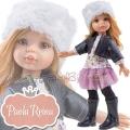 Paola Reina Дизайнерска кукла Даша със зимни ботуши и шапка 04411