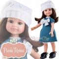 Paola Reina Дизайнерска кукла Клео със зимна рокля и шапка 04444