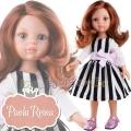 Paola Reina Дизайнерска кукла Кристи с официална рокля и болеро 04445