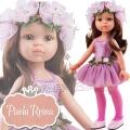 Paola Reina Дизайнерска кукла Карол балерина в розово 04446