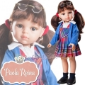Paola Reina Дизайнерска кукла Ученичката Карол 04615