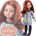 Paola Reina Дизайнерска кукла Кристин с рокля с котки 04646