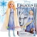 Disney Frozen Замръзналото Кралство 2 Кукла Елза с дълга коса E7002