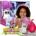 Bush Baby Меко животинче с движещи се очи и къща-шушулка Принцеса Мелина 2313