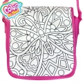 Color Me Mine Чанта за оцветяване Messenger Bag Love Butterfly