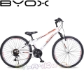 Велосипед със скорости 26 инча Byox White