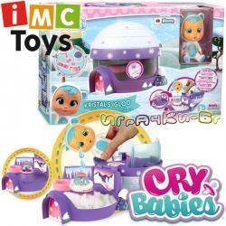 IMC Toys Cry Babies Къщичка Иглу с мини бебе Кристал 90934