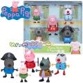 Peppa Pig Комплект фигурки Party 5бр. 6667