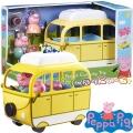 Peppa Pig Кемпер Ван с 4 фигурки Асортимент 6922