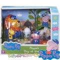"Peppa Pig Игрален комплект ""Peppa's Day at The Zoo"" с 3 фигурки 7170"