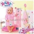 Baby Born Халат за баня за кукла Бейби Борн 824665 Zapf Creation