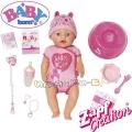 Baby Born Интерактивна мека кукла Бейби Борн момиченце 824368 Zapf Creation