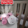 Fisher Price Успокояващ проектор за гушкане Хипопотам в розово FGG89