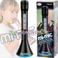 Mi-Mic Караоке Микрофон с Bluetooth и LED светлини Black TY5899BK