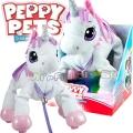 Peppy Pets Плюшен любимец за разходка навън Еднорог 243501