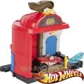 Hot Wheels City Комплект Пожарна станция с количка FRH29