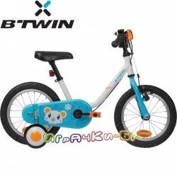 B'TWIN Детски велосипед 14'' Arctic Blue 8378533