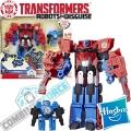 Hasbro Transformers Combiner Force Активатор с робот Hi-Test vs.Optimus Prime С2