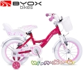 "Byox Bikes Детски велосипед 14"" FLOWER PINK"