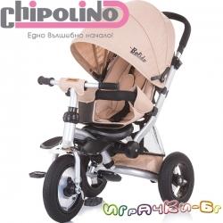 Chipolino Триколка със сенник Болид Moka TRKBLD02002MO
