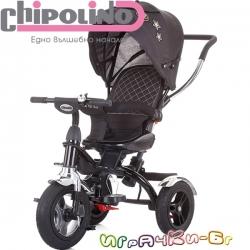 Chipolino Триколка 360 със сенник Арена Графит TRKAR02001GR