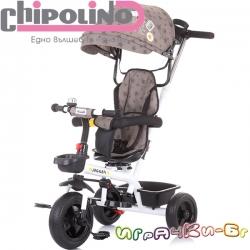 Chipolino Триколка 360 със сенник Jogger Мока TRKJG02002MO