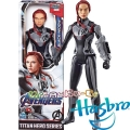 Marvel Avengers Titan Hero Екшън фигура Black Widow с Power FX порт E3920