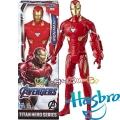 Marvel Avengers Titan Hero Екшън фигура Iron Man с Power FX порт E3918