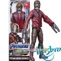 Marvel Avengers Titan Hero Екшън фигура Star Lord с Power FX порт E3849