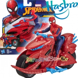 Hasbro SpiderMan Екшън фигура Спайдърмен с мотор E3368