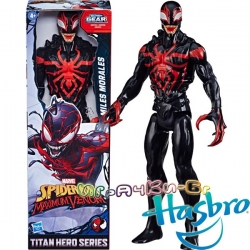 Marvel Spider-Man Titan Hero Екшън фигурка Miles Morales с Power FX порт E8729