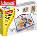 Quercetti Мозайка квадрати 100 части Fantacolor 924 026741