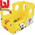 Bestway Детски надуваем автобус с 20 топки 93506